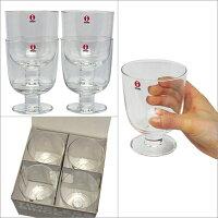 iittalaイッタラLempi(レンピ)Glassグラス4個セット♪340mlクリアー