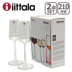 iittala イッタラ Essence(エッセンス)シャンパン 210ml クリア 2個セット ギフト・のし可