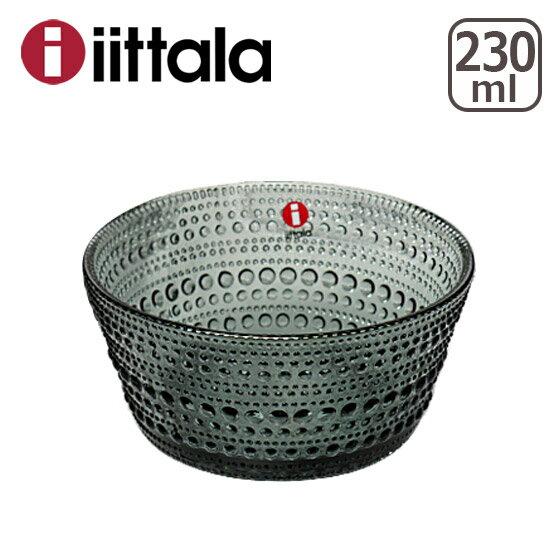イッタラ カステヘルミ iittala (KASTEHELMI) ボウル 230ml グレー(グレイ) ita7514-p ガラス ボウル イッタラ/ittala 北欧 食器