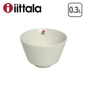 【4時間5%OFFクーポン】イッタラ ティーマ ティーミ ライスボウル 0.3L ホワイト お茶碗 iittala TEEMA TIIMI