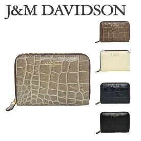 J&M DAVIDSON (ジェイアンドエムデヴィッドソン)ミニ財布 SMALL ZIP PURSE(スモールジップパース)5259 7464 選べるカラー ギフト・のし可 北海道・沖縄は別途962円加算