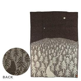 KLIPPAN クリッパン リサイクルウール 50% & ウール 50% ブランケット 130x180 HOUSE IN THE FOREST(ハウスインザフォレスト) BROWN(ブラウン)WOOL BLANKETS (recycled wool 50% / lambs wool 50%) ギフト可