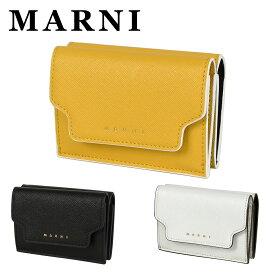 MARNI マルニ 三つ折り財布 小銭入れ付 ミニ財布 PFMOW02U07 LV520 ギフト・のし可
