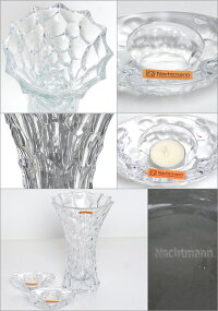 Nachtmann(ナハトマン)スフィア99676バリューパック(ベース28cmx1+キャンドルホルダーx2)花瓶