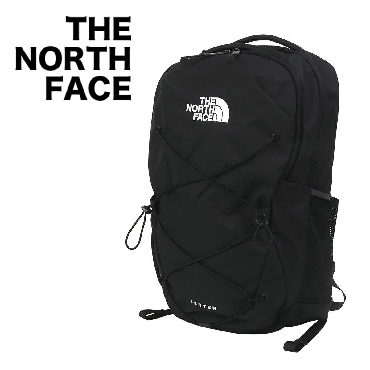 ノースフェイス リュック THE NORTH FACE バックパック JESTER(ジェスター) BLACK メンズ レディース【北海道・沖縄は別途540円加算】