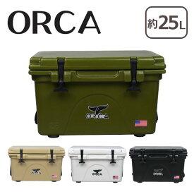 【Max1,000円OFFクーポン】オルカ クーラーボックス ORCA Cooler 26 Quart 選べるカラー 北海道・沖縄は別途962円加算