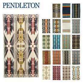 ペンドルトン タオルブランケット PENDLETON XB233 ブランケット・ジャガードタオル・スパタオル 101x177cm 選べるカラー バスタオル・タオルケットにも・大判タオル・綿毛布 Oversized Jacquard Towels ギフト可