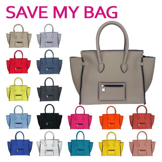 【Max1,000円OFFクーポン】SAVE MY BAG (セーブマイバッグ) PORTOFINO ポルトフィーノ Mサイズ ハンドバッグ 2129N 選べるカラー ギフト可