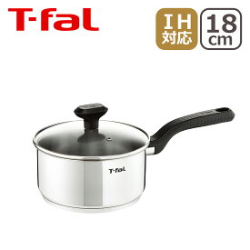 T-fal (ティファール) コンフォートマックス IH ステンレス ソースパン 18cm C99523