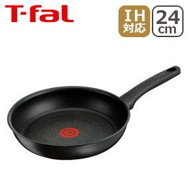 ティファール IH対応 T-fal ハードチタニウム プラス フライパン 24cm C63004