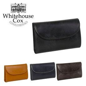 ホワイトハウスコックス 三つ折り財布小銭入れ付 #S7660 WHITEHOUSE COX ギフト・のし可