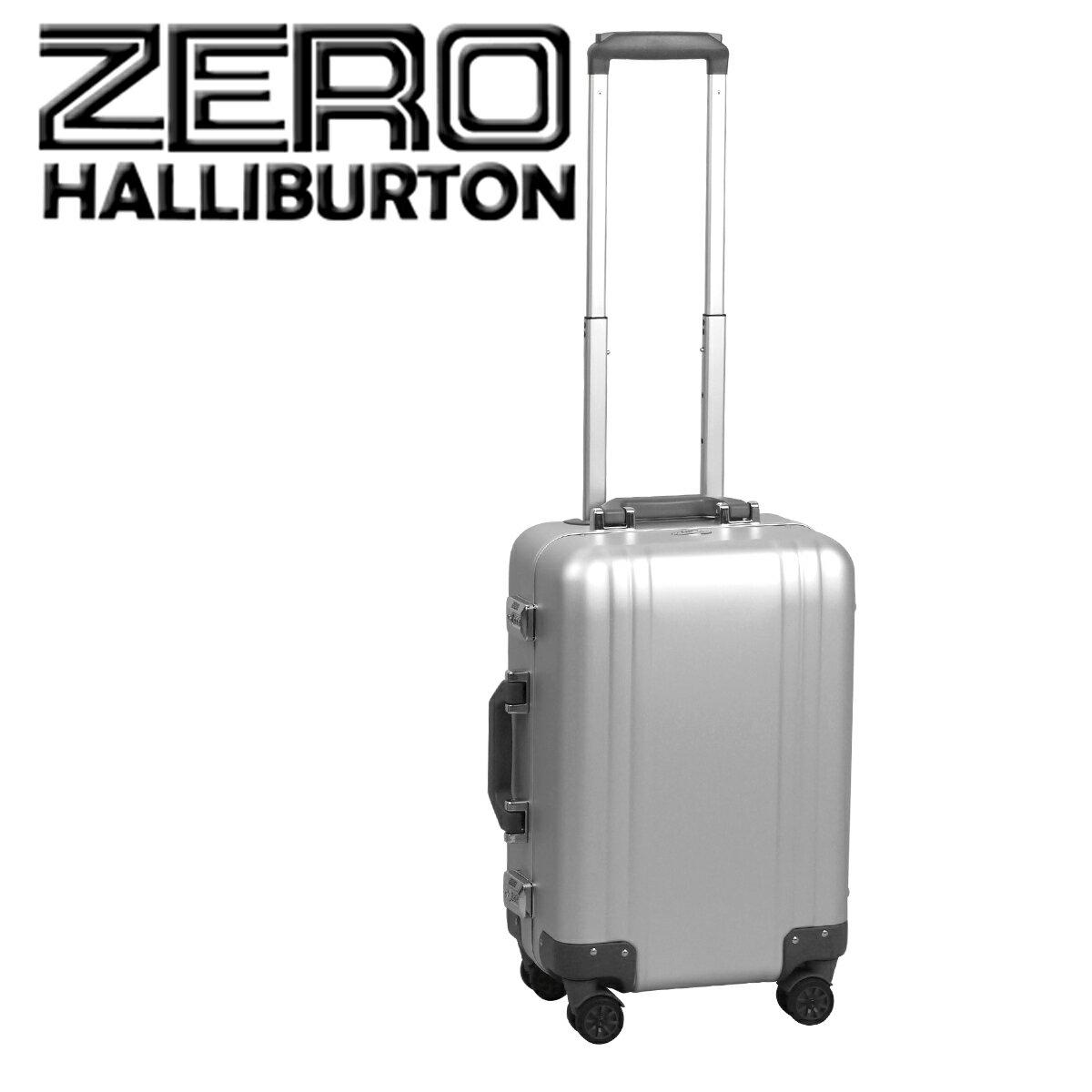 ゼロハリバートン クラシック アルミニウム 2.0 スーツケース/ビジネスケース シルバー Carry-On 4-Wheel Spinner Travel Case 4輪 機内持ち込み 北海道・沖縄は別途540円加算