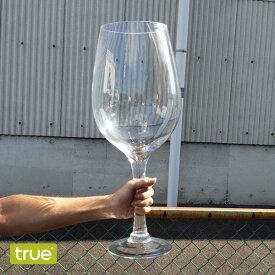 [大きなグラス]true BIG BORDEAUX WINE GLASS H500mm(ビッグボルドーワイングラス・ワインビッググラス・コルク入れ・飲み物・お酒・ジュース瓶・収納・パーティー・バーベキュー・大きいグラス・おもしろ雑貨・インスタ映え)トゥルー