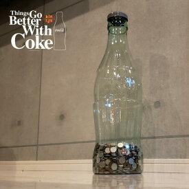 [でかい貯金箱]CocaCola GIANT BOTTLE BANK 高さ60cm PJ-CB01(コカコーラ・ボトルコインバンク・ジャイアントボトルバンク・USA・大きい・ビッグ・BIG・アメリカン雑貨・世田谷ベース・かっこいい・おもしろ雑貨・500円玉)PENNY JAPAN-ペニージャパン