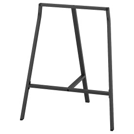 IKEA イケア LERBERG 架台 グレー 801.666.71