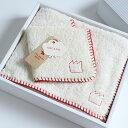 今治タオル ギフトセット オーガニックステッチimabari towel giftset Organic Stitch フェイスタオル1枚 × ハンカチ1枚ギフ...