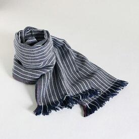 今治タオル コットンマフラーimabari towel Cotton MufflerJean ジーン ネイビー
