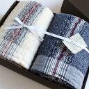 今治タオル コンテックス 40ストライプ ギフトセットImabari Towel Kontex 40 Stripe GiftSetバスタオル2枚ギフトラッピング無料 のし無料