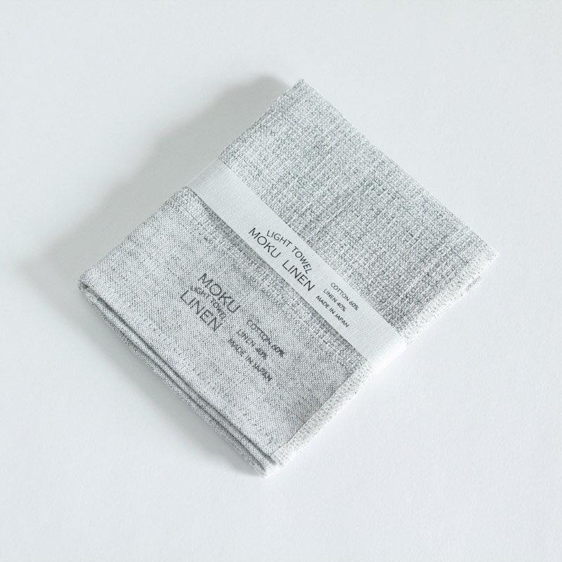 今治タオル コンテックス MOKU LINEN モク リネンImabari Towel Kontex MOKU LINENSize S グレー