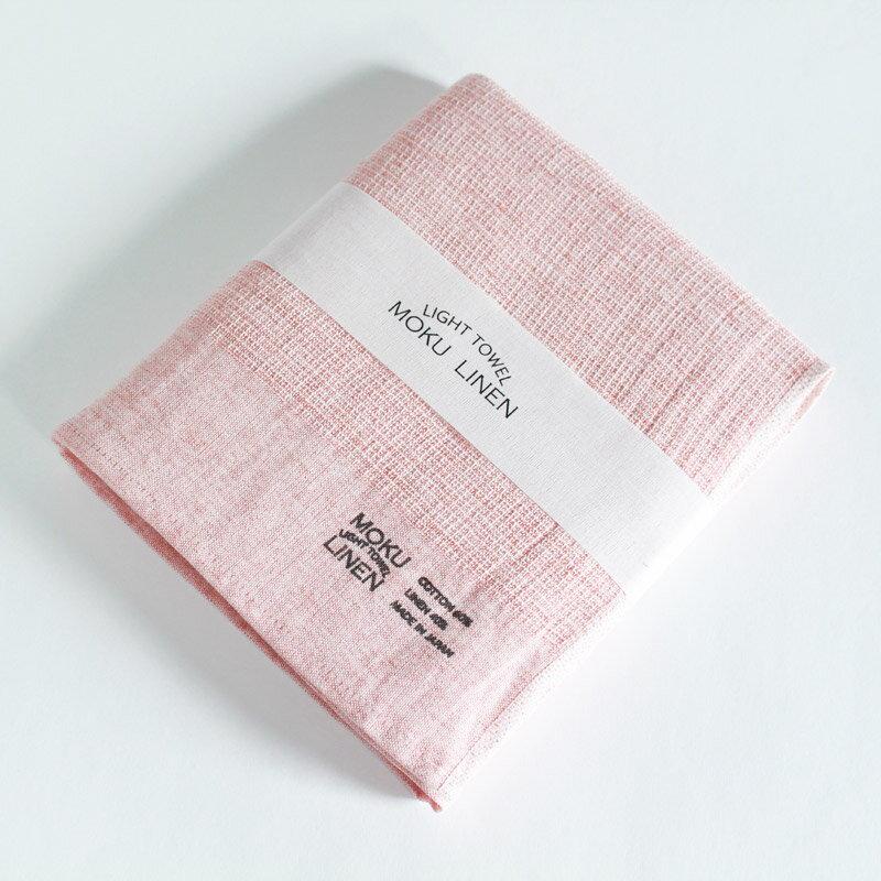 今治タオル コンテックス MOKU LINEN モク リネンImabari Towel Kontex MOKU LINENSize L レッド