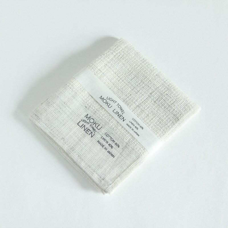 今治タオル コンテックス MOKU LINEN モク リネンImabari Towel Kontex MOKU LINENSize S ホワイトグレー