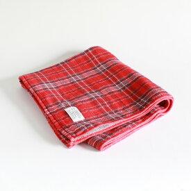 今治タオル コンテックス タータンチェックImabari Towel Kontex Tartan CheckSize L レッド