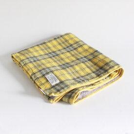 今治タオル コンテックス タータンチェックImabari Towel Kontex Tartan CheckSize L イエロー