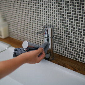 daily特注マイクロファイバークロス3枚セット/「国内大手メーカー採用、汚れ拭き・吸水性に特化」 30×40センチ/グレー