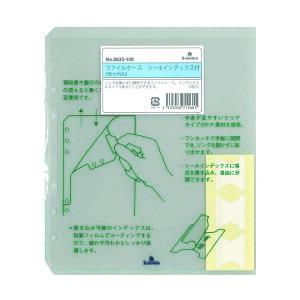 アシュフォード システム手帳 リフィル ファイルケース シールインデックス付 HB×WA56635-100
