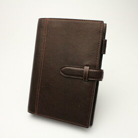 アシュフォード システム手帳ディープBIBLE19mm 7238-022 ブラウン
