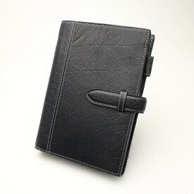 アシュフォード システム手帳ディープBIBLE19mm 7238-077 ネイビー