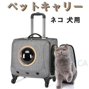【即納】ペットキャリー 犬 ペットキャリーカート トラベルキャリー ペットカート ペット キャリーケース 猫 ネコ 犬用 キャリーケース かわいい 小型犬LTY3-AL102BIU