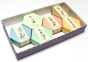 京野菜飴ギフト (京野菜飴6種類小箱セット)【楽ギフ_包装】