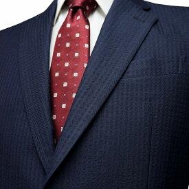 春夏 ロンナー メンズジャケット ニュークラシックモデル 綿・絹(シルク) シングル2ボタン A・AB ネイビー 日本製 紳士服 メンズ LONNER 7k011162-5821n