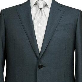 春夏 ロンナー(ゼニア生地) メンズスーツ JPクラシックモデル シングル2ボタン C(AB)・L(BE) グレイッシュグリーン 日本製 紳士服 メンズ LONNER 7k010162-0451j