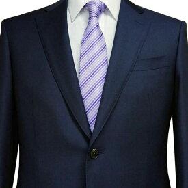 春夏 ロンナー(REDA服地) メンズスーツ JPクラシックモデル シングル2ボタン L(BE) ネイビー 日本製 紳士服 メンズ LONNER 7k010162-0501j