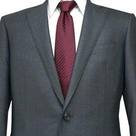 春夏 ロンナー メンズスーツ ブルーステッチモデル シングル2ボタン R(A)・C(AB)・L(BE) グレー 日本製 紳士服 メンズ LONNER 7k020162-3801b