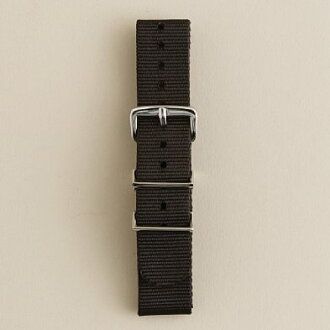 It is crew Watch strap watch strap (BLACK) J.CREW Jay