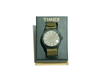 J.CREW 排手表的 TIMEX Timex j.crew 排手表 (军事橄榄)