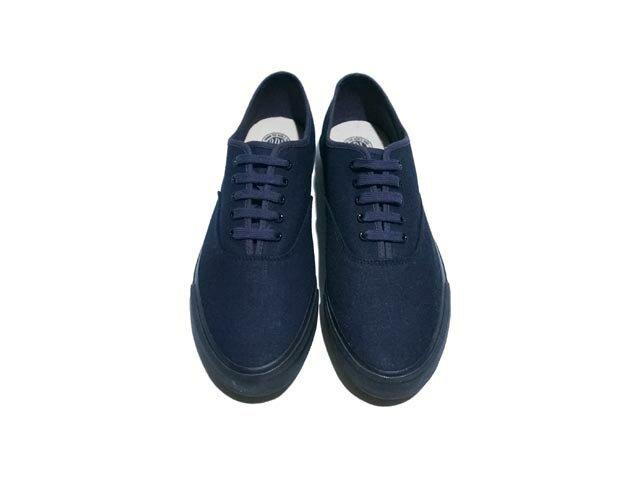 【送料無料!!】RRL ダブルアールエル Norfolk Denim Sneaker ノーフォーク デニム スニーカー(INDIGO / BLACK)