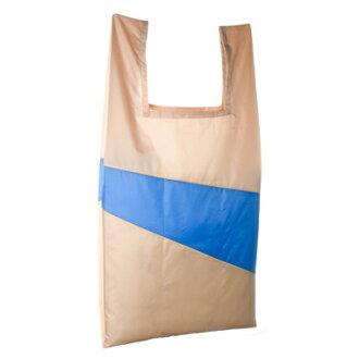SUSAN BIJL苏珊·铃TheNewShoppingbag这个新购物袋(APRICOT×BLUE L SIZE)
