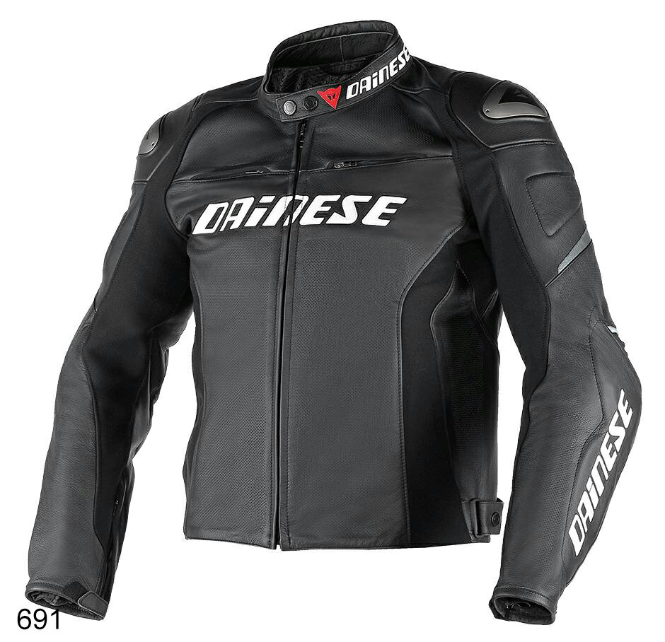 DAINESE(ダイネーゼ)RACING D1 PERF. LEATHER JACKET