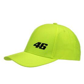 VR46(バレンティーノロッシ)CORE SMALL 46 CAP YELLOW