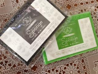 【【送料無料】緑15個と黒15個2色入りキッチン用サンサンスポンジ30個セット(グリーン15個ブラック15個)。リピーターさん続出!お陰様で大好評!みんなでシェアー。