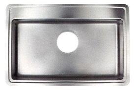 トヨウラ製 プレミアムシンク N742BIT フィット排水タイプ(アンダーシンク)【ステンレスシンク】