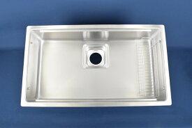 シゲル工業製 JSM-K 2F FS シンク(JS15シンクシリーズ)(静音タイプ)(排水一体型)