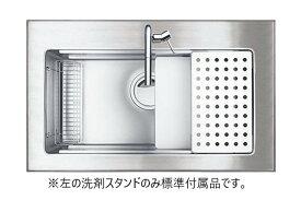シゲル工業製 PSSA-JSL-K 3F FS(外寸 966×580)(オーバーシンク)(静音タイプ)【ステンレスシンク】