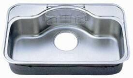 シゲル工業製 FCM-K FS ※制振材貼り(外寸810×520)(アンダーシンク)【ステンレスシンク】