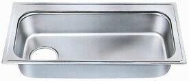 シゲル工業製 PZB-1030(外寸1030×530)(オーバーシンク)【ステンレスシンク】