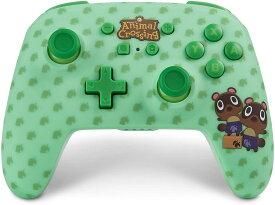 PowerA Nintendo Switch 背面ボタン付きワイヤレスコントローラー あつまれ どうぶつの森 まめきち&つぶきち [並行輸入品]